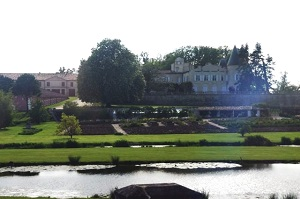 Château Lafite Rothschild in de Bordeaux