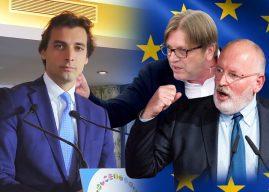 FVD bouwt eurosceptische alliantie om Timmermans en Verhofstadt te stoppen