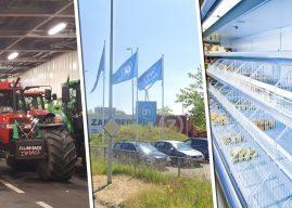 Boeren plannen nieuw protest: lege supermarktschappen voor Kerst