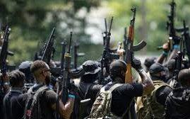 Black NFAC Militia voldoet aan White Militia en schiet per ongeluk drie van hun eigen leden neer